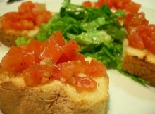 weight watchers bruschetta recipe