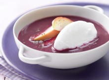 Weight Watchers Apple & Beetroot Soup with Snow Dumplings recipe