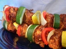 Weight Watchers Cajun Kebabs recipe