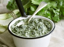 Weight Watchers Creamed Spinach recipe