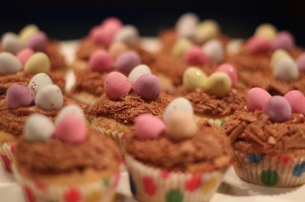 Weight Watchers Easter Nest Cupcakes recipe