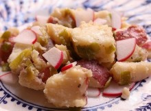 Weight Watchers Mayo-Free Red Potato Salad recipe