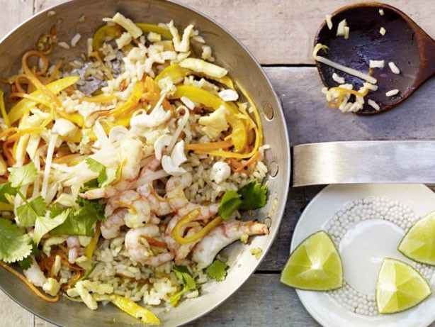Weight Watchers Shrimp Fried Rice recipe