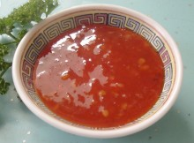Weight Watchers Thai Dipping Sauce recipe