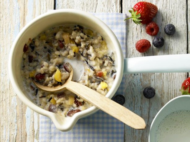 Weight Watchers Wild Rice Breakfast recipe