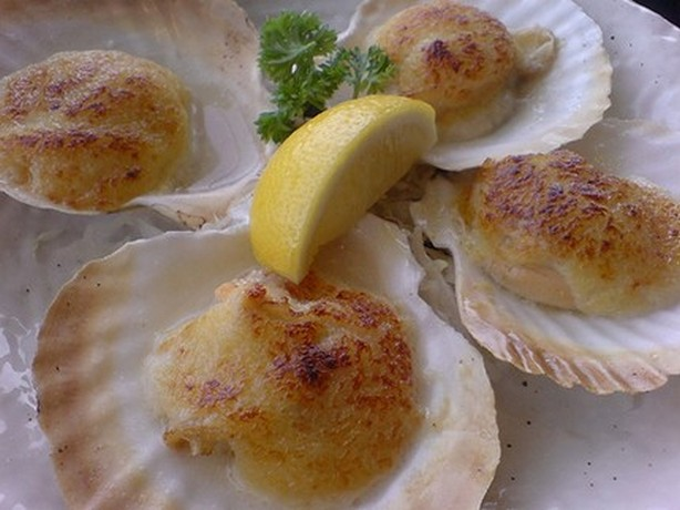 weight watchers baked scallops recipe
