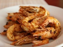 weight watchers barbecued prawns recipe