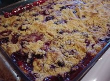 weight watchers blueberry dump cake
