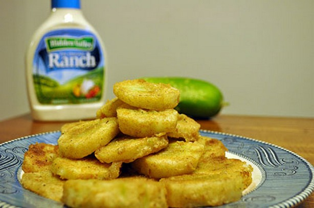 weight watchers cajun fried cucumbers recipe
