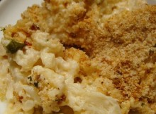 weight watchers cauliflower au gratin recipe