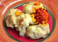 weight watchers cauliflower with marigold sauce recipe