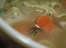 weight watchers chicken noodle soup recipe