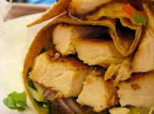 Weight Watchers Moo Shu Chicken Wraps recipe
