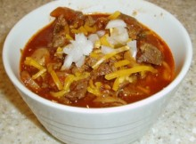weight watchers low-carb beef chili recipe