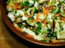 weight watchers chinese cabbage and parsley salad recipe