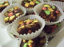 weight watchers chocolate confetti squares recipe