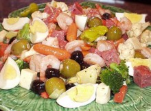 weight watchers composed appetizer platter recipe