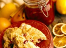 weight watchers cranberry and white chocolate scones recipe