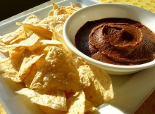 weight watchers creamy black beans spread recipe