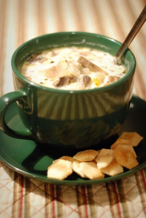 weight watchers creamy chicken and mushroom soup recipe