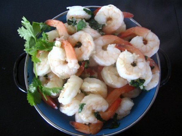 weight watchers garlic prawns recipe