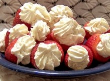 weight watchers low fat stuffed strawberries recipe