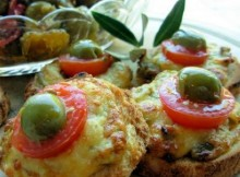 weight watchers mini cheese and olive welsh rarebit bites recipe