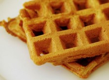 Weight Watchers Pumpkin Spice Waffles recipe