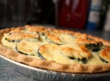 weight watchers savory zucchini pie recipe