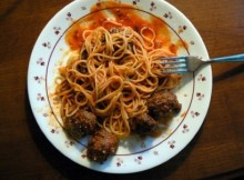 weight watchers spaghetti with italian meatballs recipe