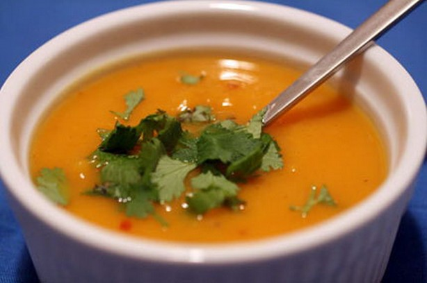 Weight Watchers Southwestern Sweet Potato Soup recipe