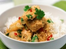weight watchers thai coconut chicken and rice recipe