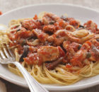 Weight Watchers Angel Hair Pasta Puttanesca Recipe with Chicken