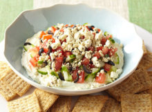 WeightWatchers Quick Mediterranean Dip Recipe