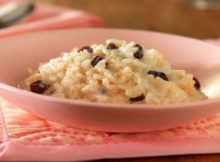 Weight Watchers Raisin Rice Pudding Recipe