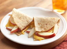 Weight Watchers 1-Minute Apple Tortilla Recipe