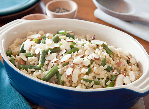 Weight Watchers Rice and Green Beans Recipe