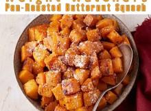 Weight Watchers Pan-Roasted Butternut Squash recipe