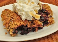 weight watchers blueberry crisp recipe