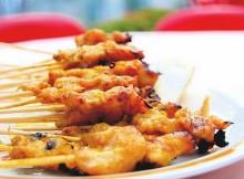 Weight Watchers Chicken Skewers with Satay Sauce recipe