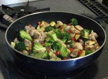 Weight Watchers Sweet and Sour Chicken Stir-Fry recipe