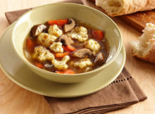 Weight Watchers Roasted Cauliflower Mushroom Soup Recipe